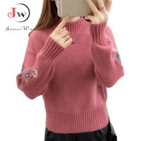 Autumn Winter Women Sweaters and Pullovers Long Sleeve Casua...