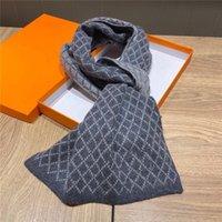 Lenço de alta qualidade Set para homens mulheres inverno lã designer designer cashmere xale anel luxo xadrez verificação sciarpe echarpe homme tamanho 180 * 35cm