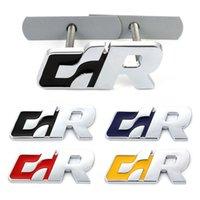 R Logo Emblem Badge Decals Car sticker Car Front Back Trunk Grille For Volkswagen R Racing VW Sagitar Passat Golf Tiguan Touareg