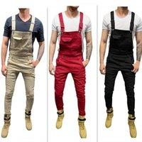 Мужские плюс размер брюки джинсы мужчина для мужчин карманные джинсовые драйверы общий комбинезон прохладный дизайнер бренд стритюра сексуальная подвеска 7009