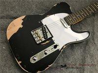 Neue Art E-Gitarre, Alder Wood handgefertigte schwere Reliktguitar. Color kann Anpassung annehmen