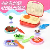 Pretend Play House Sets Kitchen Role Toys Kids Simulation Toasters Bread Maker Ice Cream Machine Blender Baking Kit Game Girls Toys