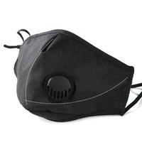 Маска для лица Анти-пыль Рамок с дышащим клапаном регулируемый многоразовый рот маски мягкие дышащие анти пыль защитные маски233