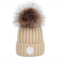 فاخر محبوك قبعة مصمم قبعة قبعة كاب رجل القبعات المجهزة للجنسين ل الكشمير منقوشة خطابات عارضة الجمجمة قبعات في الهواء الطلق الأزياء عالية الجودة 8 ألوان