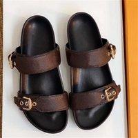 2021 A29 Designer Donne Sandali Donne Signore Signore Luxury Pantofole in vera pelle Pantofole Piatta Scarpe piatto Oran Sandal Party Scarpe da sposa con scatola Dimensioni 35-42