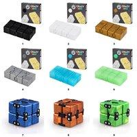 TIKTOK Infinity Magic Cube Toys Creative Sky Antistress Office Flip Cubic Puzzle Mini Blocks Decompression Fidget Toy