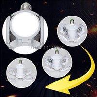 Lampadine E27 LED Lampadina Pieghevole Pieghevole Fan Blade 40W 60W Lampada Super Bright White 6500K per lampada da soffitto per casa indoor
