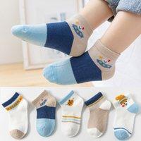 Meias infantis verão fina penteada de algodão meias meninos e meninas bebê bebê costura meias