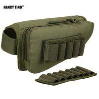 Sachen Säcke Nancy Tino Jagd Bandolier Taktische Reißverschluss Rifle Buttstock Gunpack Wange Pad Rest Shell Mag Munitionsbeutel Pocket Magazine Tasche