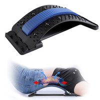 Resistance Bands Magnetic Back Stretcher Lumbar Spine Traction Massage Pain Support Pressure Therapy Relax Massager Full Body