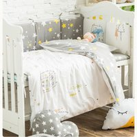 Bedding Sets 3 Pcs set Bed Covers For Baby Crib Set Cotton Pillowcase Quilt Cover Sheet Cot Bedclothes