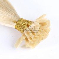 U poinçon des extensions de cheveux pré-collées Doux dessinés 1G brin 50g 100g kératine colle vierge cheveux humains # 1b # 9 # 9 # 99j # 613
