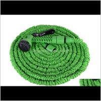 100ft expandierbarer flexibler Garten Magie Wasserschlauch mit Sprühdüsenkopf blau grün mit Kleinkasten Versand 5 SDD28 QUDI7