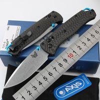 BenchMade 535-3 Ось оси бугут тактический складной нож 535 ручка из углеродного волокна S90V Blade открытый кемпинг охота на выживание карманные утилиты EDC инструменты самообороны