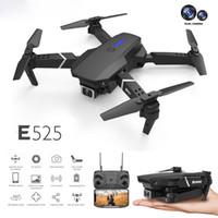 Dropship LS-E525 Дрон 4k HD Dual Lens Мини Дрон WiFi 1080P Трансмиссия в реальном времени FPV Dual Cameras Складная RC Quadcopter Подарочная игрушка
