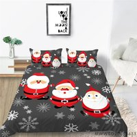 Bedding Sets Christmas Design Duvet Cover 3D Set For Kids Children Polyester Bedclothes King Queen Size Room Decor