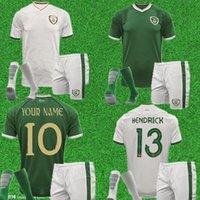 Bambini 2021 Irlanda National Team Jersey di calcio 20 21 Duffy McClean Doherty Hendrick Camicia da calcio Uniformi Uomo adulto Set di calze Kit