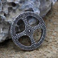 Youe Shone Sun Pingente Norse Amuleto Roda de Life Celtic Colar
