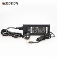 Inmotion V5 / V5F 셀프 스쿠터 외발 자전거 전기 스케이트 보드 84V Li-On 배터리 충전기 전원 공급 장치에 대한 원래 충전기