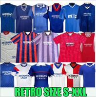 87 90 92 94 96 97 99 01 08 Glasgow Rangers FC Retro Jerseys 20 21 Gerrard Gascoigne Laudrup Soccer Shirts McCOist Uniformes de fútbol