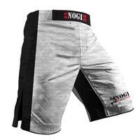 Hombres MMA Shorts Diseño personalizado Jiu Jitsu Impresión completa BJJ Judo Shorts Muay Thai Troncs 210315
