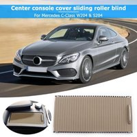 Car Organizer Interior Accessories Stowing Tidying Center Console Cover Slide Roller Blind For C Class W204 S204 E W212 S212