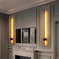 Wall Lamp Modern Hanging Simple Lighting Living Room Art Deco Luxury Background Designer Bedroom Bedside Adjustable Long