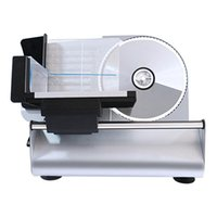 Power Tool Sets Electric Slicer Multifunktions-Fleisch Halbautomatischer Haushalts-Desktop-Lammscheibe Gemüse Brotschinken eingefroren