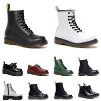 erkek kadın tasarımcı botları Pürüzsüz Deri Oxford Kış Ayakkabıları Ayak Bileği Siyah beyaz Bordo Yeşil Kabak Turuncu erkek moda lüks çizme boyutu 36-44