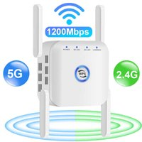 5G Long Range Wifi Repeater Wifi Signal Amplifier Wi-fi Network Extender Wifi Booster 1200m 5Ghz Wireless Repeater Wi Fi 5 Ghz