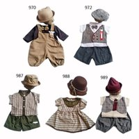 Clothing Sets Infant Baby Girls Boys Pography Prop Clothes Toddler Birthday Po Shooting Costume With Hat Outfits Foto Accessories