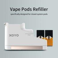 Xoyo Vape Pods RIFILLER E-Cigaretta Cartuccia Atomizzatore batteria Atomizzatore E-Liquid Olio Riempimento Siringa VAPORIZZATORE VAPORIZZATORE E-JUICE Iniezione Dispositivo di iniezione