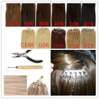LUMMY Silicone Micro Rings Loop Hair Extensions 16\