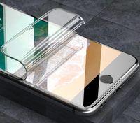 Protetor de tela Filme de proteção macio para iPhone 12 11 promax 7 8 Plus XR XS Max Não Glass Hydrogel Filme para Samsung S21 S20 Ultra Note20