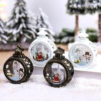 Lampe à vent circulaire de Noël Joyeux Décor de Noël pour la maison 2021 Noël Navidad Noel Cadeaux Cristmas Ornements Bonne année 2022