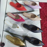 Moda Kadın Sandalet Perçin Terlik Bohemian Elmas Sivri Terlik Kadın Flats Çevirme Ayakkabı Yaz Plaj Slaytlar Sandalet Ayakkabı10 10