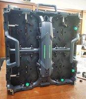 하드웨어 연결 사용자 정의 P3.91 실내 500 * 500 * 80mm 임대 LED 디스플레이 LED 비디오 벽