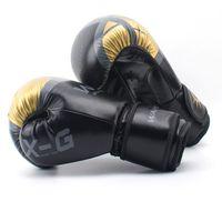 Kick Boxe Luvas Mulheres Homens MMA Muay Thai luva luva luva de caixa pro boxe luvas para treinamento 6 8 10 12 oz