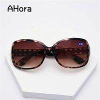 Солнцезащитные очки Ahora Lady's Crystal Bifocal Bifocal Sun Очки для чтения Очки для очков Prebeopia Eyeglasses HysyOpia Eyewear для женщин + 1.0to + 4.0