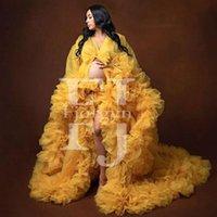 Personnalisé Fabriqué Couleur Tulle Tulle Robes de maternité Femme Gestion de soirée Robe de mariée Robe d'événement formelle Toutes les couleurs que vous pouvez sélectionner