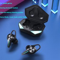 Wireless earphones Bluetooth K5 TWS headphones HiFi stereo earbuds Dual mode low latency gaming headset with microphone