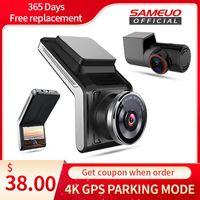 Sameuo U2000 dash cam front and rear 4k 2160P 2 camera CAR dvr wifi dashcam Video Recorder Auto Night Vision 24H Parking Monitor