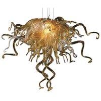 Pendant Lamps Modern Chandeliers Lighting Art Hand Blown Glass Chandelier LED Lights For Bedroom Decor