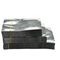 100 Pcs Excellent Quality 7*10 cm Vacuum Bag Sealer Food Storage Package Silver Aluminum Foil Mylar Flat Pocket Bag