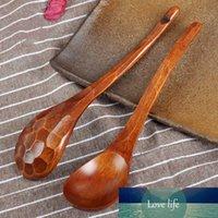 Cuchara de madera Concha de tortuga Textura Durable Segura Práctica Cocina Sopa Hot Pot Spoon Utensilio para Restaurante