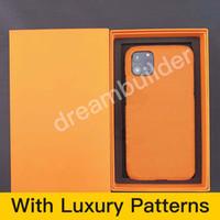 Cas de téléphone de mode pour iPhone 12 Pro Max 11 11Pro 11Pro 11Proxax 7 8P x XR XS XSmax Coffret PU Samsung S10 S20 Plus Note 10 10p Note20 Ultra