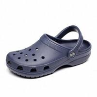 أحذية ثقب الذكور رجالي أحذية كروكس الصنادل sandalias 2020 الصيف sandalen النعال sandalet hombre sandali جديد c7dm #