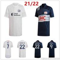2021 2022 MLS Revolução Azul Jerseys de futebol Buksa Kapksa Carles Gil 7 Bou Personalizado 21 22 Revolução Casa Away Adulto Kit Kit Camisa de Futebol