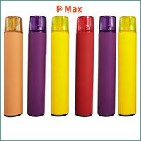 P Max 2000 MAH Tek Kullanımlık Vape Pen E Sigara Kiti 2000Puffs Cihazı 5% Ön Dolgulu 8.5ml Pods Kartuşları 1200mAh Pil Elektronik