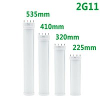 10pcs 2G11 led Tube Light 4pin LED horizontal plug lamp 2g11 pll Lamp PL bar Bar Replace H tube 9W 12W 18W 22w AC96-265V